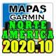Mapa De América Del Norte Para Gps Garmin Versión 2020.10 3d