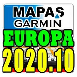 Mapa De Europa Completo Para Gps Garmin Versión 2020.10 - 3d